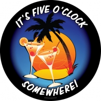 It's Five O'Clock Somewhere with Cocktails