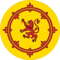 Rampant Lion Wheel Cover