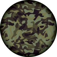 Camouflage Spare Wheel Cover Design
