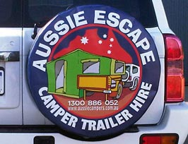 Custom Spare Wheel Cover Designs