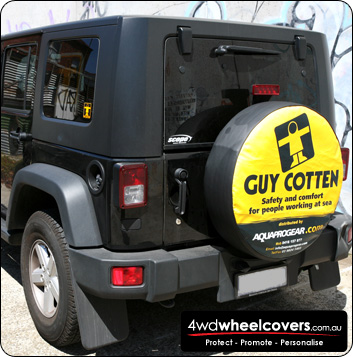 Guy Cotten spare wheel cover design