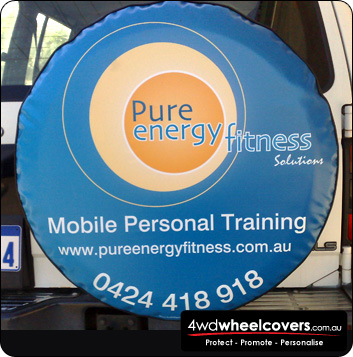 Pure Energy spare tyre cover design