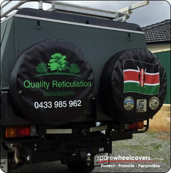 Quality Retic spare tyre cover