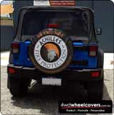 Achilles Fire Custom Spare Wheel Cover