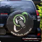 Spare Tyre Cover for BOLT.