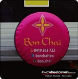 Caravan Spare Wheel Cover for Bon Chai