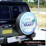 Earthmart Spare wheel cover design.