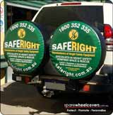 Saferight Dual Spare Wheel Covers
