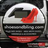Shoes and Bling Business Spare Wheel Cover