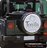 Tonita Photography Spare Wheel Cover.