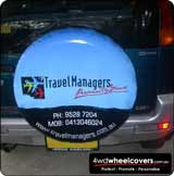 Travel Managers Spare Tyre Cover.