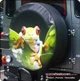 Tree Frog Stock Design Spare Tyre Cover