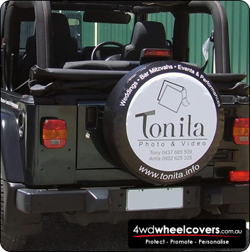 Tonita Photography spare wheel cover
