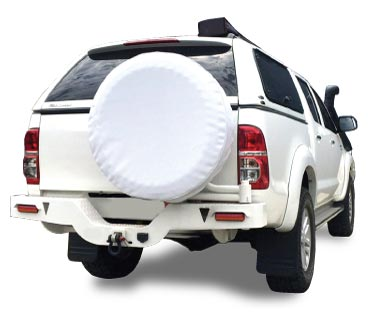 Install your spare tyre cover correctly and get the best look for your vehicle.