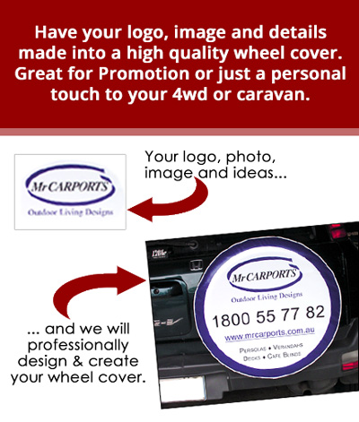 From your ideas and logos to a professional wheel cover design.