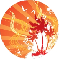Fantasy Paradise Wheel Cover