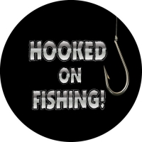 Hooked On Fishing Spare Wheel Cover