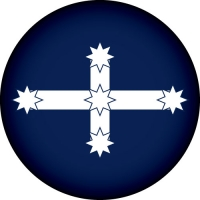 Eureka Stockade Flag Wheel Cover