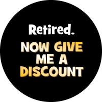 Retired - Now Give Me A Discount Spare Tyre Cover