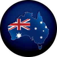 OZ Flag Map Spare Wheel Cover