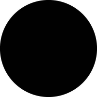 Plain Black Spare Wheel Cover