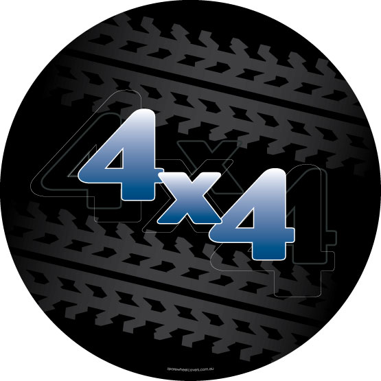 4x4 Trekker Spare Wheel Cover