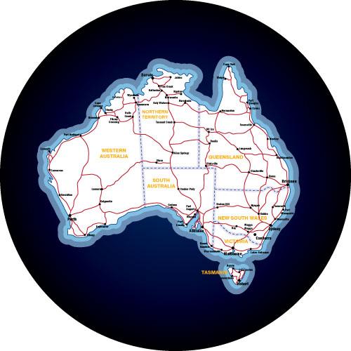 Ausralian Plot Your Travels