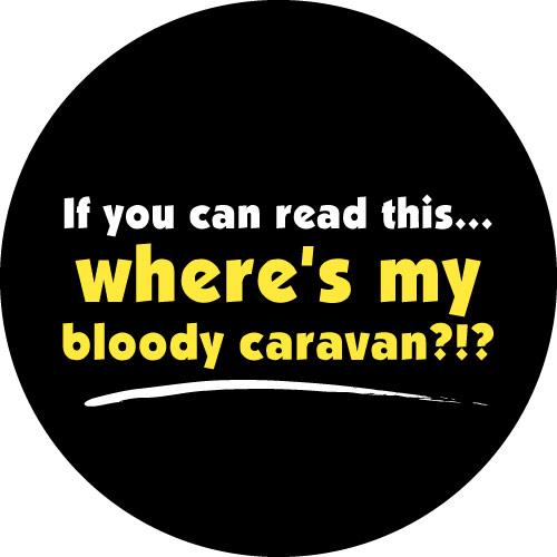 Lost Caravan Spare Tyre Cover Design
