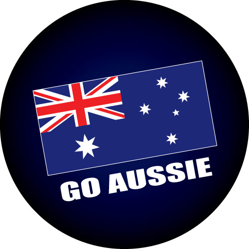 Go Aussie Tyre Cover Design
