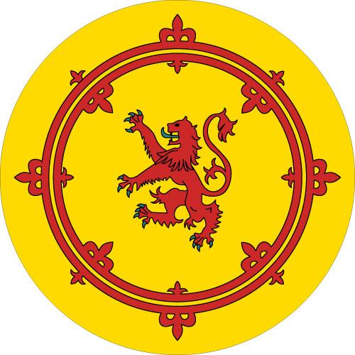 Rampant Lion Wheel Cover