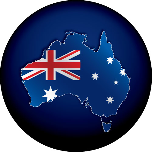 OZ Flag Map Spare Wheel Cover