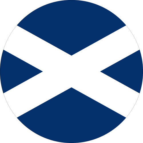 St Andrews Cross Spare Wheel Cover